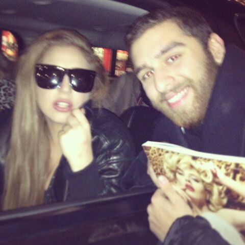 File:Jan.9 Gaga with a fan in Vancouver.jpg