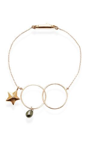 File:Inez and Vinoodh - 18k Rose gold bracelet w black Tahitian Pearl Charm.jpg