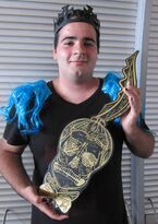 The Born This Way Ball Monster pit key holder 10-6-12
