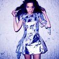 OLIMA Silver dress 001