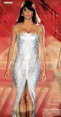 Versace - 90s glitter dress