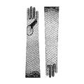 Cornelia James - Chloe opera length lace glove