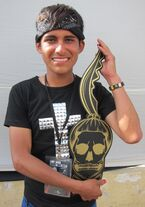 The Born This Way Ball Monster pit key holder 11-23-12