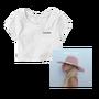 Joanne - White crop t-shirt