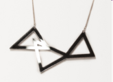 Brian Lichtenberg Tri Triangle necklace