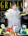 Grazia Magazine Middle East 2014 September Cover