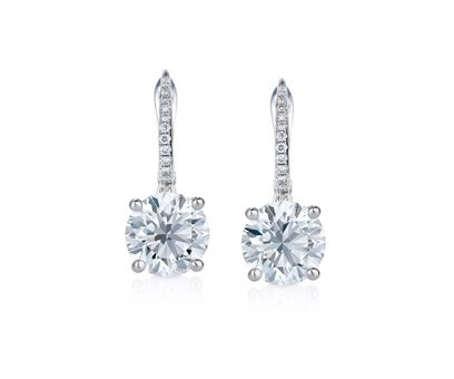 File:De Beers - Cushion cut sleeper earrings.jpg