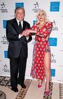 10-19-15 At National Arts Awards in NYC 002