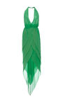 Halston - Kelly Green dress