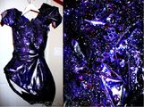 OLIMA Purple glitter piece 001
