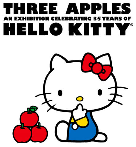 File:Three Apples Hello Kitty 35th Anniversary Celebration poster.jpg