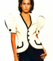 Moschino SS 1993 White Jacket
