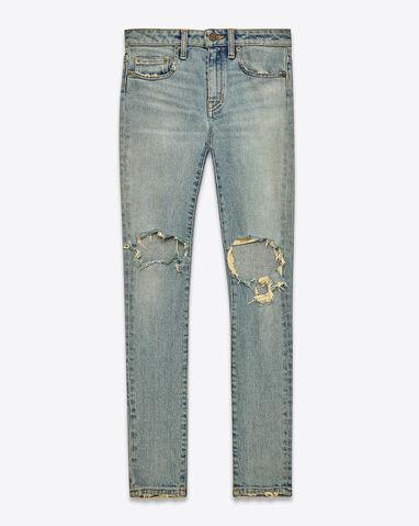 File:Saint Laurent - Mid waisted skinny indigo stretch denim jeans.jpg