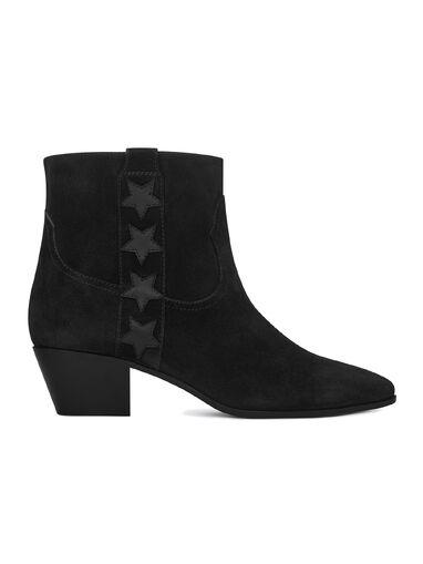 File:Saint Laurent - Wyatt 40 side stars ankle suede boot.jpg