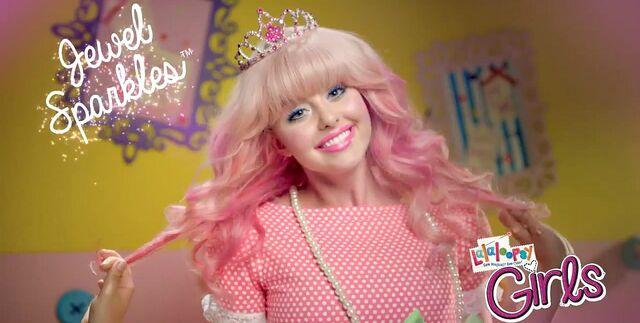 File:Lalaloopsy Girls - debut commercial - Jewel Sparkles HS student.jpg