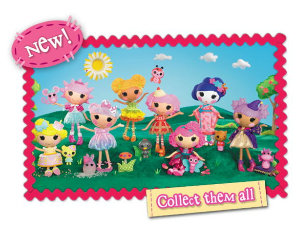 File:Lalaloopsy Core Assortments - Spring+Summer '14 - 5th generation lineup set photo.png