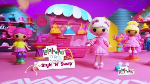 Lalaloopsy Style 'N' Swap 30 Commercial