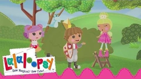 Nothing to Fear! Sir Battlescarred is here! Lalaloopsy