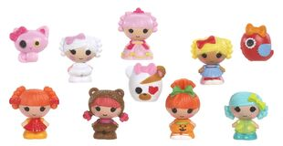 Lalaloopsy Tinies - Series 1 - yellow - 10pk