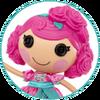 Character Portrait - Rosebud Long Stem
