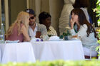 Out for lunch with Francesco Carrozzini and Franca Sozzani in Stresa2C Italy 28August 229 28229