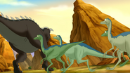 Archaeornithomimus TLBT 2