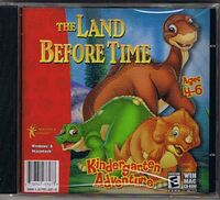 The Land Before Time Kindergarten Adventure CD