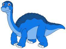 Bally the blue chubby Tinysaurus