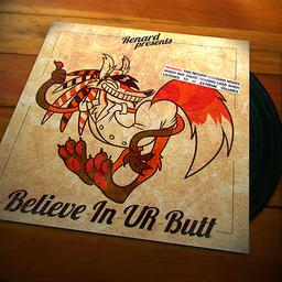 Believe In UR Butt cover