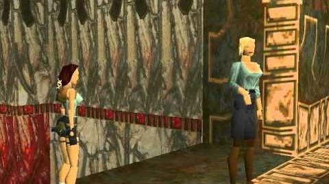 Tomb Raider (1996) Cutscene 10 - Natla