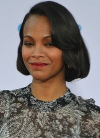Zoe Saldana - Guardians of the Galaxy premiere - July 2014 (cropped)