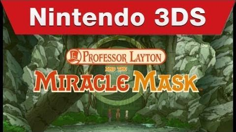 Nintendo 3DS - Professor Layton and the Miracle Mask Teaser Trailer