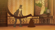 Professor Layton Curious Village - Because when you build a glider just like that, you can never go wrong
