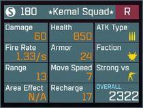 Kemal Squad R Lv1 Back