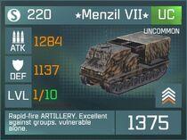 Menzil VII UC Lvl1 Front