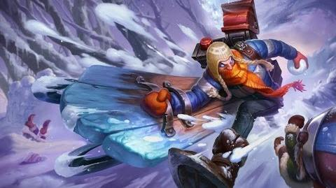 League of Legends- Snow Day Singed