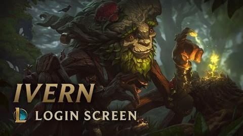 Ivern, the Green Father - Login Screen