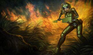 Lux CommandoSkin