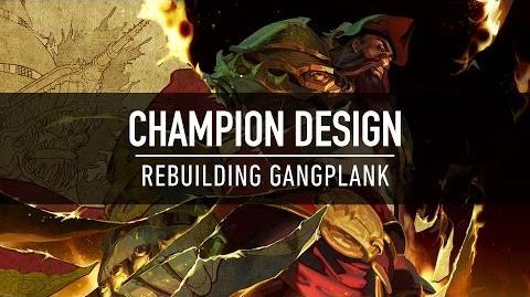 Champion Design Rebuilding Gangplank