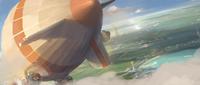 Piltover zeppelin race