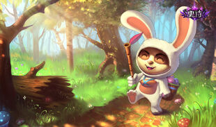 Teemo CottontailSkin Ch