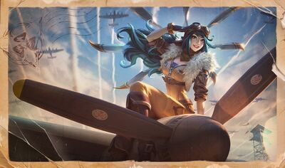Irelia AviatorSkin