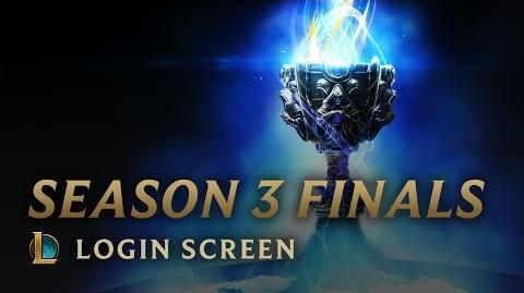 Season 3 Finals - Login Screen