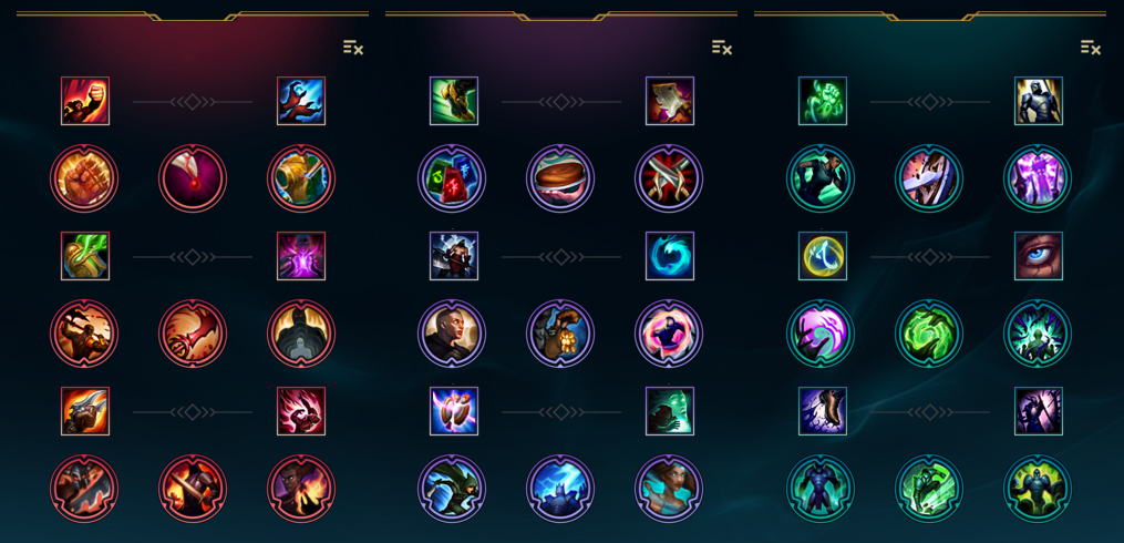 Ezreal New Ruins Build