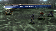 Dragon Soldier uses HP Recovery