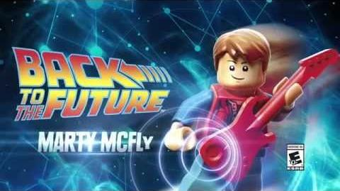 Character Spotlight Marty McFly LEGO Dimensions
