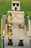 Lego minecraft golem de hierro