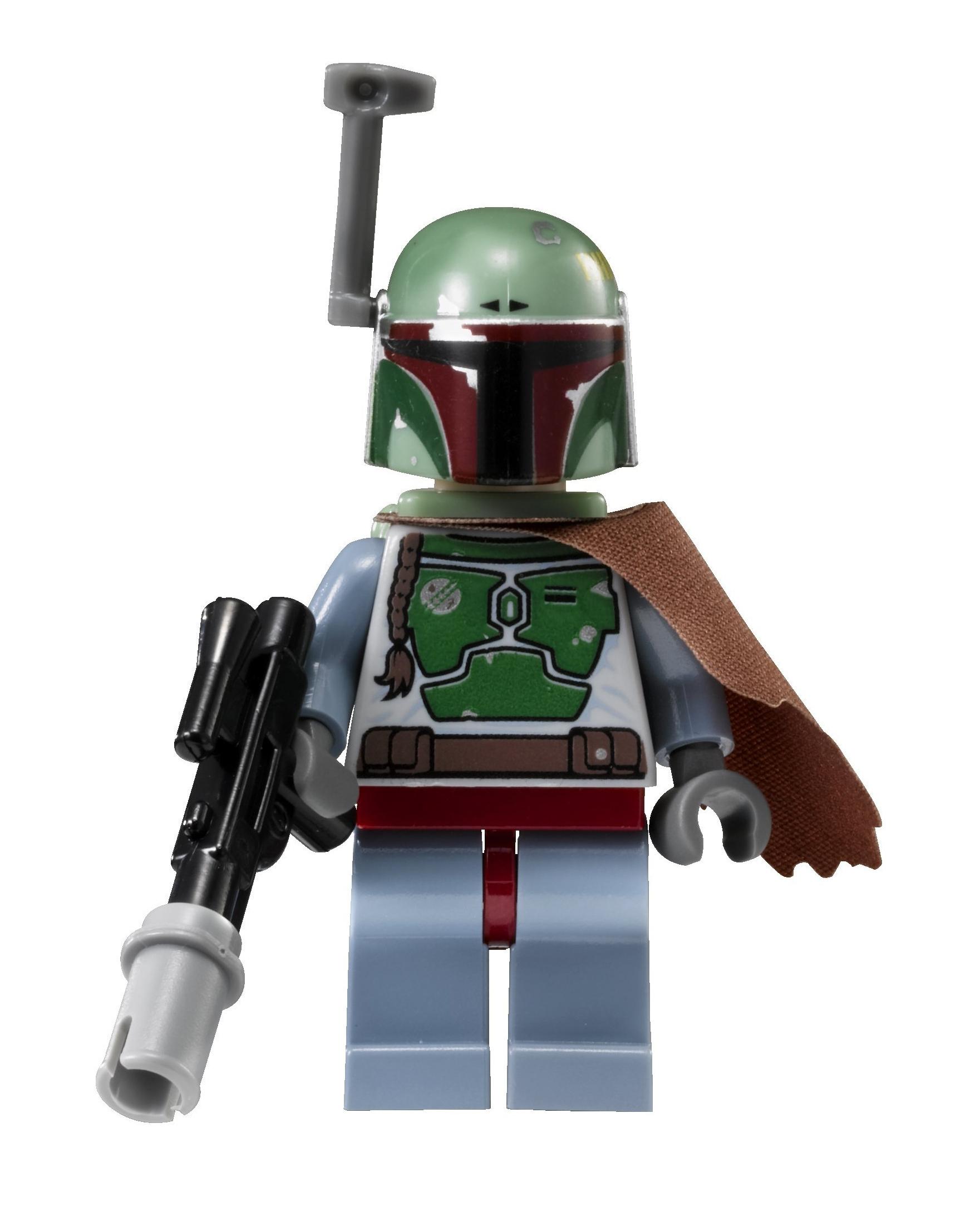Lego 4 x Rangefinder /& Visor Boba Fett/'s Star Wars Accessories Dark Red