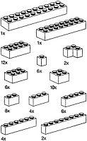 9935 Basic Bricks, Black