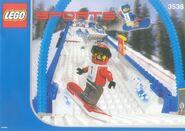 3538 Snowboard Boarder Cross Race